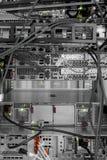 Hihg-Technologie-Netzkabel lizenzfreie stockfotografie