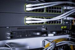 Hihg-Technologie-Netzkabel stockbild