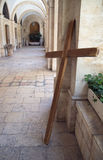 Hij binnenland van het paleis Pontius Pilate, jerusale Stock Afbeelding