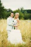 Hij en zij Stock Foto