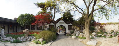 Hij Paviljoen tuin-Shuixin royalty-vrije stock fotografie