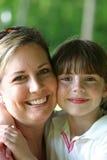 Hija de la madre Fotografía de archivo libre de regalías