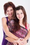 Hija de la mama Imagenes de archivo