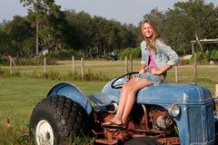 Hija del granjero Foto de archivo libre de regalías