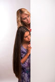 Hija joven de la madre y del adolescente Imagen de archivo