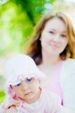 Hija y madre Imagen de archivo libre de regalías