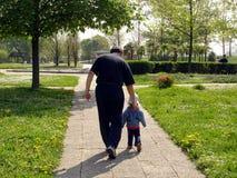 Hija y padre Imagenes de archivo