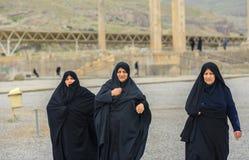 hijab的妇女 免版税库存照片