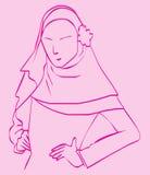Hijab dla mody Obrazy Stock