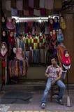 Hijab Seller Royalty Free Stock Image