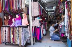 Hijab Seller Royalty Free Stock Photos