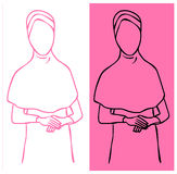Hijab User Royalty Free Stock Images