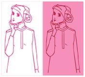 Hijab w uroku Obraz Royalty Free