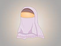 Hijabed女孩 库存图片