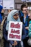 Hijabi居住问题 库存图片