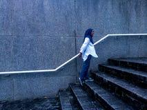Hijabmeisje Royalty-vrije Stock Afbeeldingen