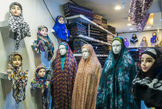 Hijabs in Iran Royalty Free Stock Images