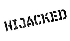 Hijacked rubber stamp Royalty Free Stock Photos