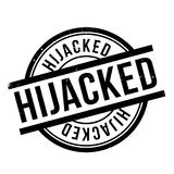 Hijacked rubber stamp Stock Photos