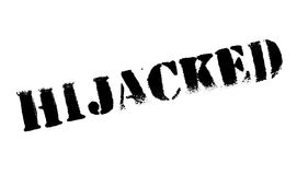 Hijacked rubber stamp Stock Photo