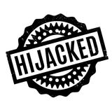Hijacked rubber stamp Royalty Free Stock Images