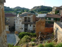 Hijar, Teruel, Ισπανία Στοκ φωτογραφία με δικαίωμα ελεύθερης χρήσης