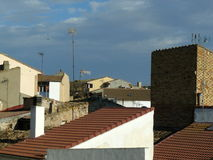 Hijar, Teruel, Ισπανία Στοκ φωτογραφίες με δικαίωμα ελεύθερης χρήσης