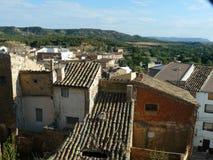 Hijar, Teruel, Ισπανία Στοκ εικόνα με δικαίωμα ελεύθερης χρήσης
