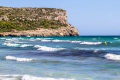Hijo Bou, Menorca, España de Cala fotos de archivo