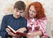 Hijo con la madre Fotografía de archivo libre de regalías