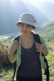 hike гора готовая Стоковая Фотография RF