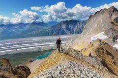 Hike in Alaska Royalty Free Stock Photos