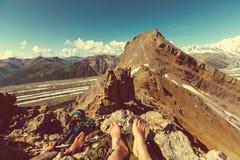 Hike in Alaska Stock Photos
