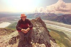 Hike in Alaska Stock Photography