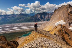 Hike in Alaska Stock Images