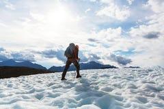 Hike in Alaska Stock Photo