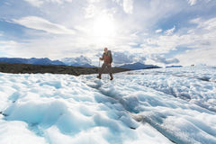 Hike in Alaska Royalty Free Stock Photography