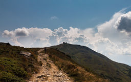 Hike atop the White Elephant Stock Photography