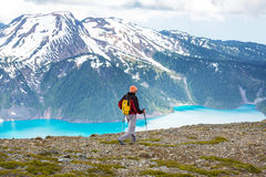 Hike in Canada Stock Photo