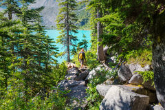 Hike in Canada Royalty Free Stock Photo