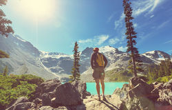 Hike in Canada Royalty Free Stock Photography