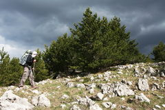 Hike in Crimea Stock Photos