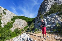 Hike in Crimea Stock Images