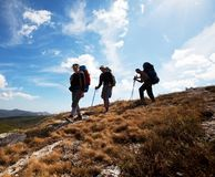 Hike in Crimea Royalty Free Stock Image