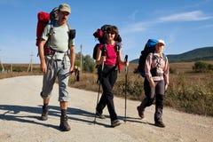 Hike in Crimea Stock Photo