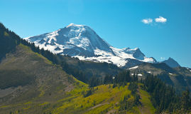 Hike da montanha imagens de stock