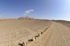 Hike do deserto em Negev. Fotos de Stock Royalty Free
