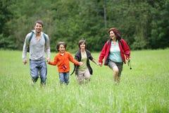 Hike do verão Fotografia de Stock Royalty Free