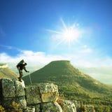 Hike em Crimeia foto de stock royalty free
