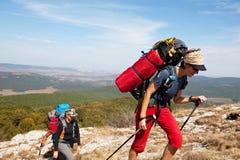 Hike em Crimeia Imagem de Stock